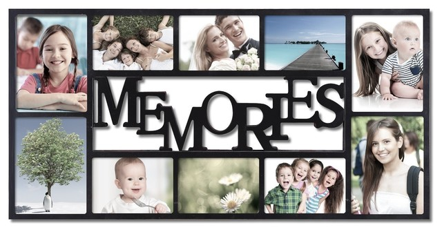wooden memories frame 2 - Collage Photo Frames