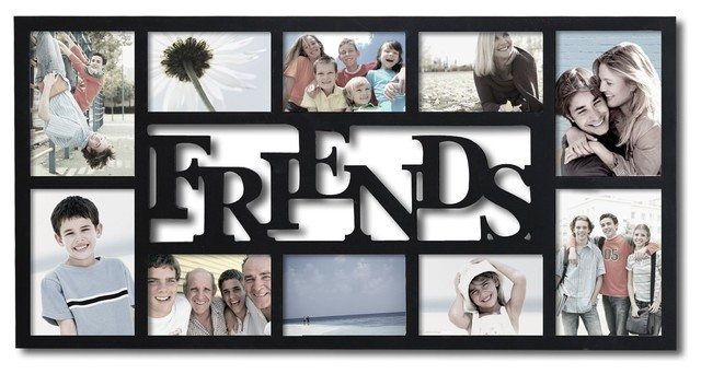 wooden friends frame - Collage Photo Frames