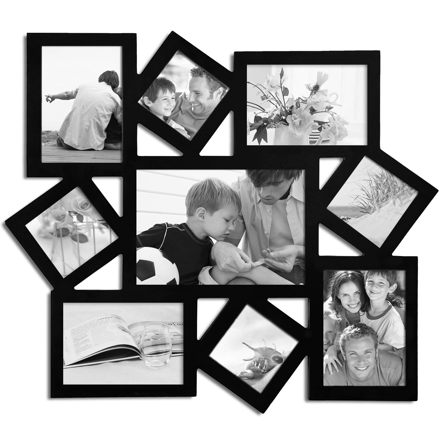 8102a99dd634 Lasercuts Ltd: Wooden Collage Frames